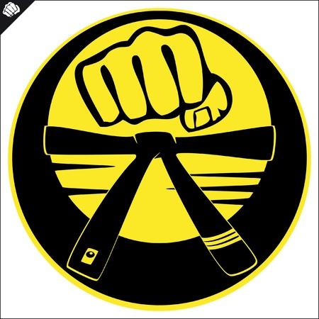 dan: Martial arts emblem, simbol