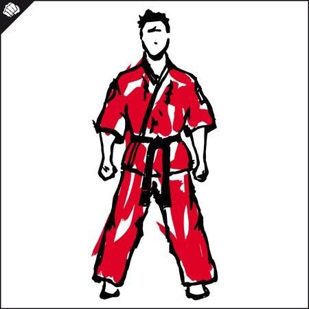 jiu jitsu: Fighting arts karate, taekwondo,hapkido,jiu jitsu