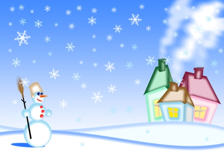 snippet: happy new year and merry christmas background