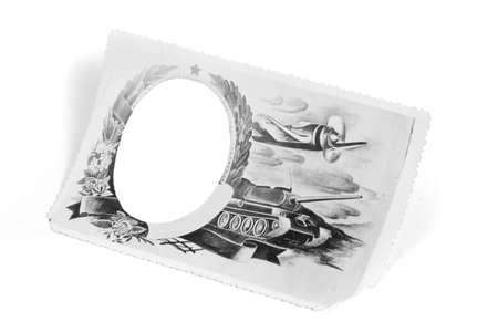 Antique vintage paper texture background art design Stock Photo