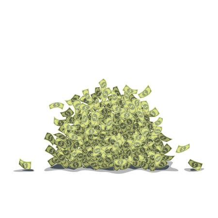 goodluck: big pile of dollars