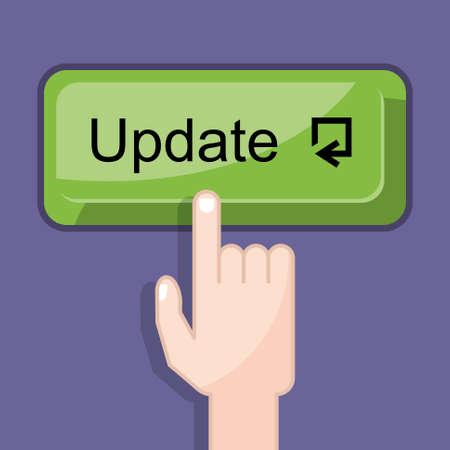 press button: press button update