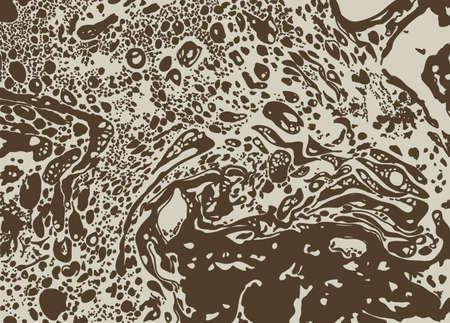 blotch: blotch background. brown color Illustration