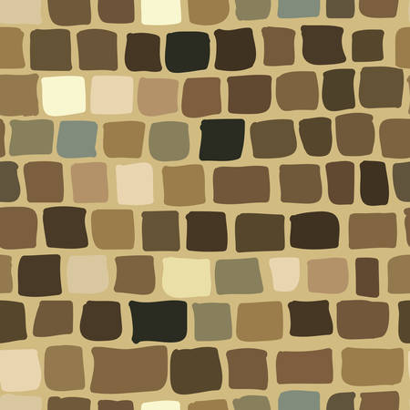 brick background in brown color. seamless texture