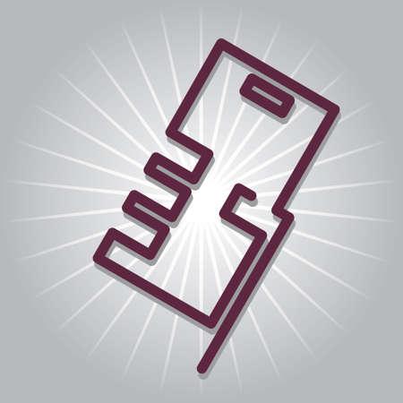 smartphone hand: smartphone in hand icon