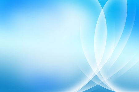 blue light: beautiful abstract waves background design line