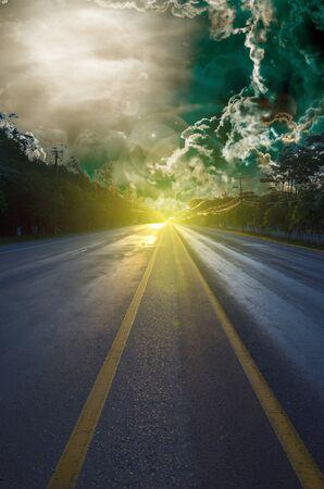 paysage: background Stock Photo