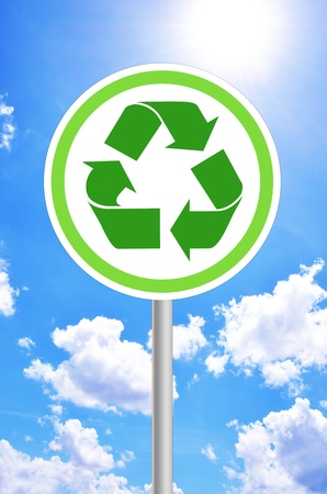 waste prevention: background Stock Photo
