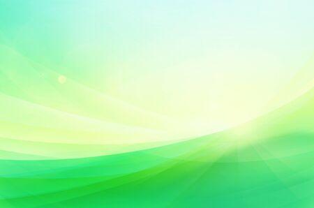 green swirl: background Stock Photo
