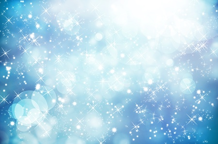 blue stars:  background