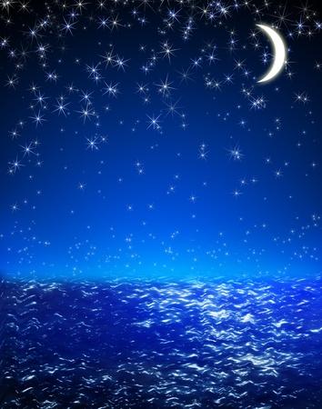 noche estrellada: fondo
