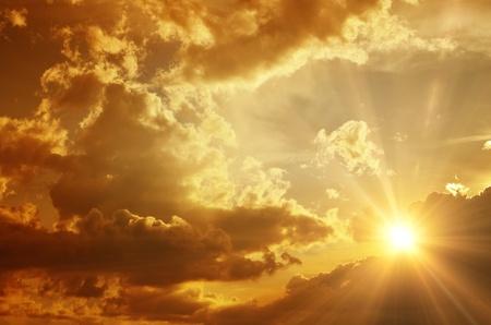 ciel avec nuages: fond