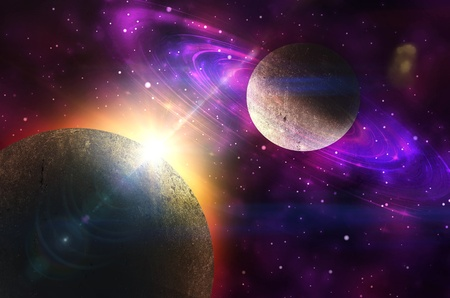 gravitational: background Stock Photo