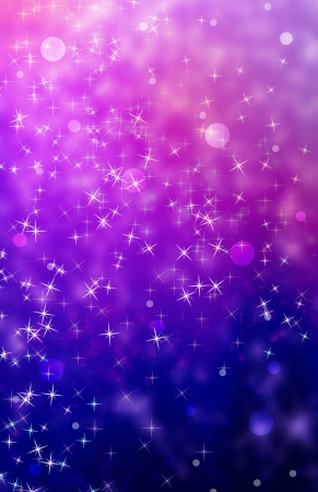 purple stars: background Stock Photo