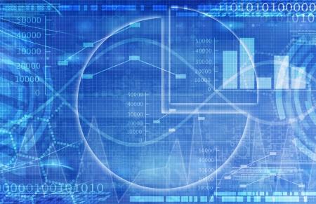 Abbildung Der Tabelle Daten Und Geschäftlichen Diagramme Im ...