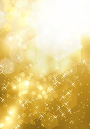 gold decorations: fondo