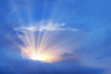 beautiful heaven: background Stock Photo