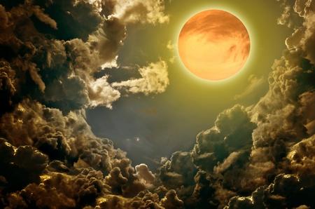 luz de luna: fondo