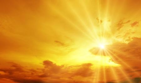 morning sunrise: background Stock Photo