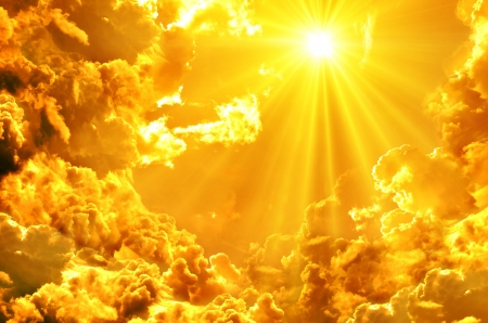 himlen: bakgrund Stockfoto