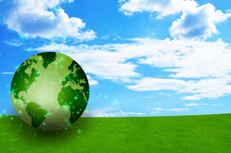 pollution free: background Stock Photo