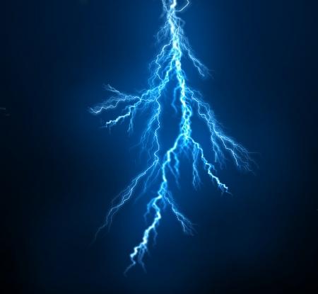 thunder: background Stock Photo