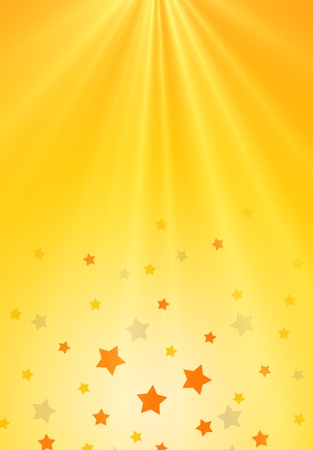 yellow shine: background Stock Photo