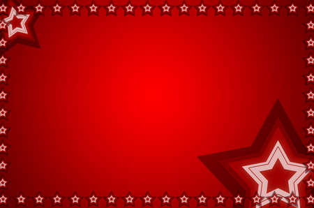 red evening: background Stock Photo