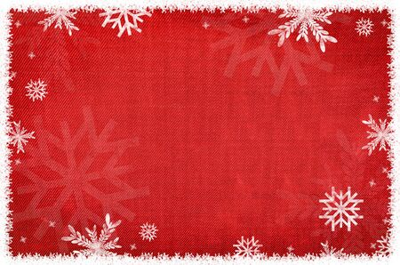 red snowflake background: background Stock Photo