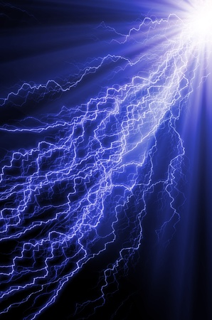 electrocute: background Stock Photo