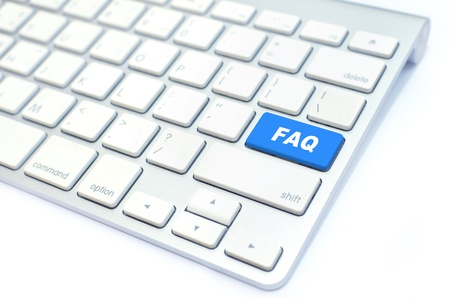 faq: background Stock Photo