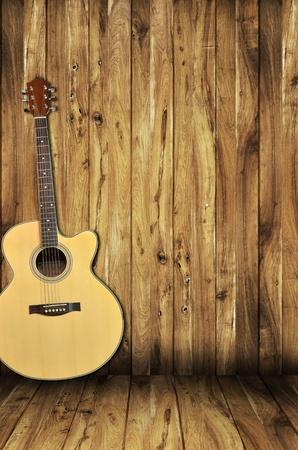 guitarra acustica: fondo