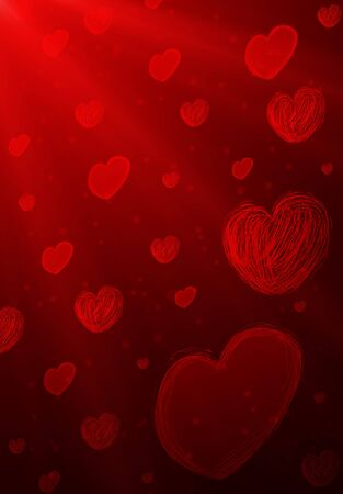 red heart Stock Photo - 12751632