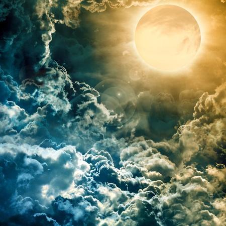 full moon Stock Photo - 12751675