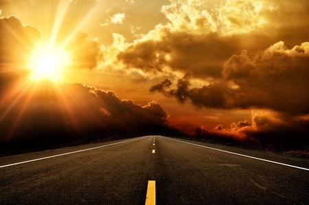 inspiratie: zonsondergang
