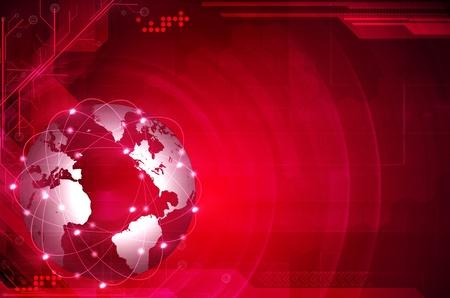 Global digital technologies photo