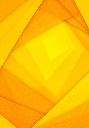 paper background: orange and yellow abstract paper background