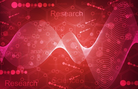 Science Research background photo