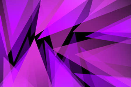 Abstract triangle colorful background photo