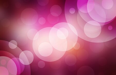 bokeh: pink bokeh background