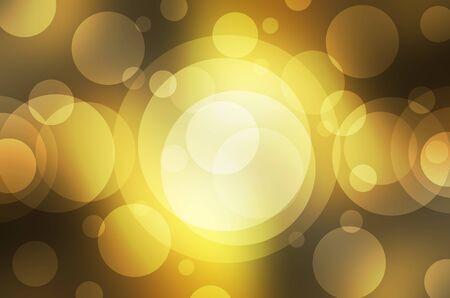 de focus: yellow bokeh background