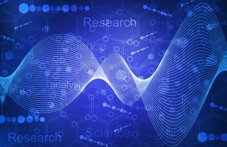 biotecnologia: resumen de antecedentes Foto de archivo