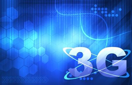 3g: 3G Smart wallpaper for your text Stock Photo