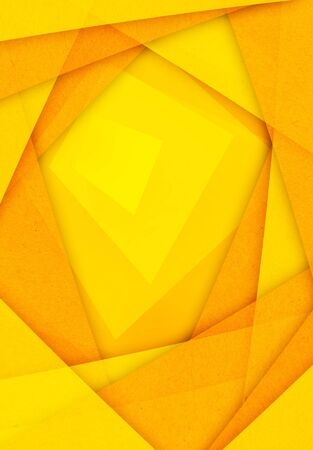 orange and yellow abstract paper background photo
