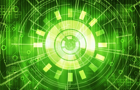 Green technology Background Stock Photo - 13055780