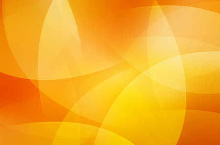 Orange and yellow background of abstract warm curves photo