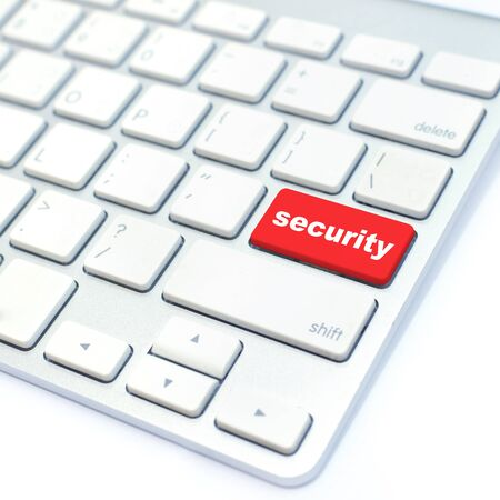 security button Stock Photo - 13647432