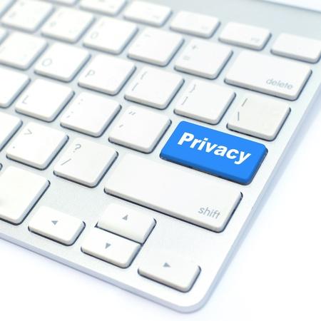 online privacy: privacy button