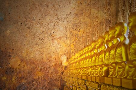 praye: View of buddha statue in Thailand space for your text