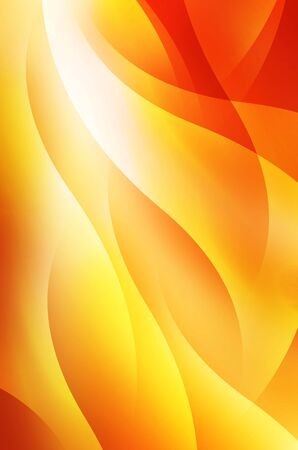 sharp curve: Orange and yellow background of abstract